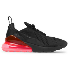 Nike Air Max 270 Mesh and Rubber Sneakers