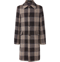 Acne Studios Oversized Checked Wool Coat