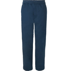 Acne Studios Wide-Leg Cotton-Twill Drawstring Trousers