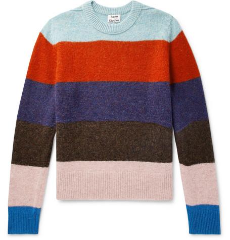 Kai B Striped Wool Sweater by Acne Studios