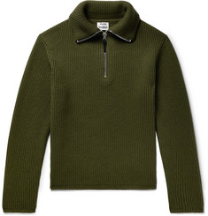 Acne Studios - Wool-Blend Half-Zip Sweater