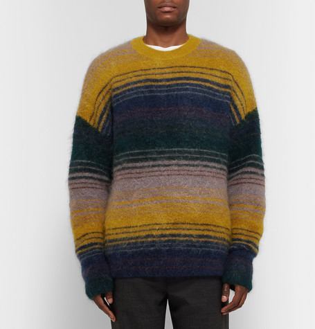 Nosti Striped Knitted Sweater by Acne Studios