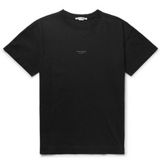 Acne Studios - Logo-Print Garment-Dyed Cotton-Jersey T-Shirt