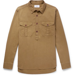 Mr P. Cotton Half-Placket Shirt