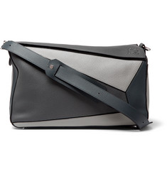 Loewe - Puzzle XL Full-Grain Leather Messenger Bag