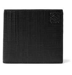Loewe - Embossed Leather Billfold Wallet