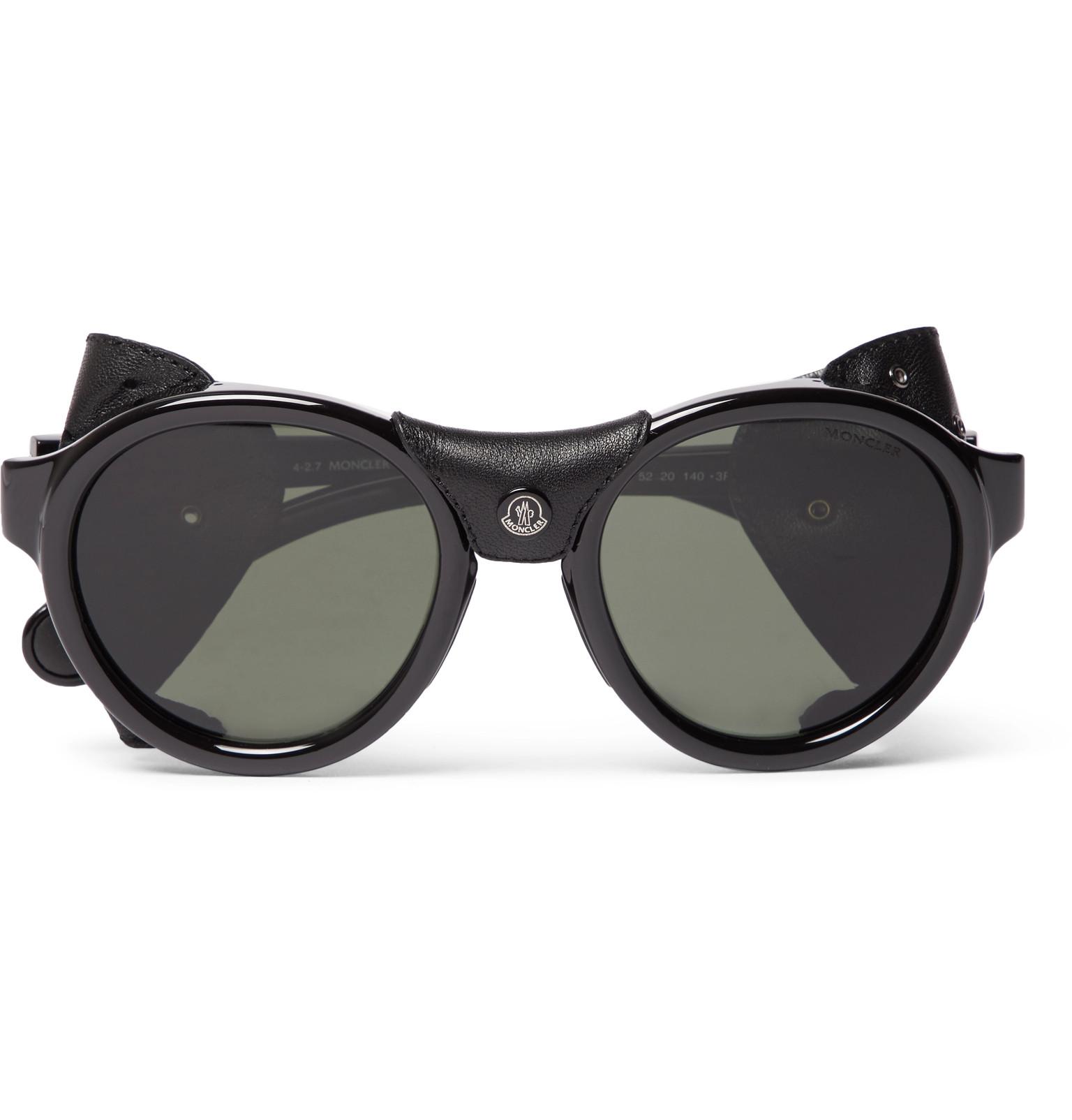 Acetate polarizadas sol de Frame Monclerround gafas UqCYw5nx