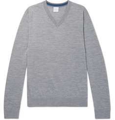 Paul Smith Mélange Merino Wool Sweater