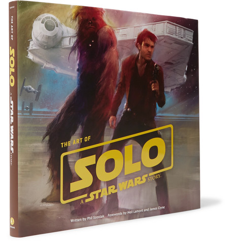 ABRAMS ART OF SOLO: STAR WARS HARDCOVER BOOK