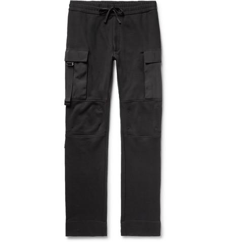 Slim-Fit Fleece-Back Cotton-Jersey Cargo Sweatpants from MR PORTER