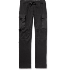 1017 ALYX 9SM Slim-Fit Fleece-Back Cotton-Jersey Cargo Sweatpants