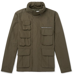 Mr P. - Water-Repellent Cotton-Blend Ripstop Field Jacket