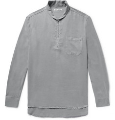 Our Legacy Lyocell Half-Zip Shirt
