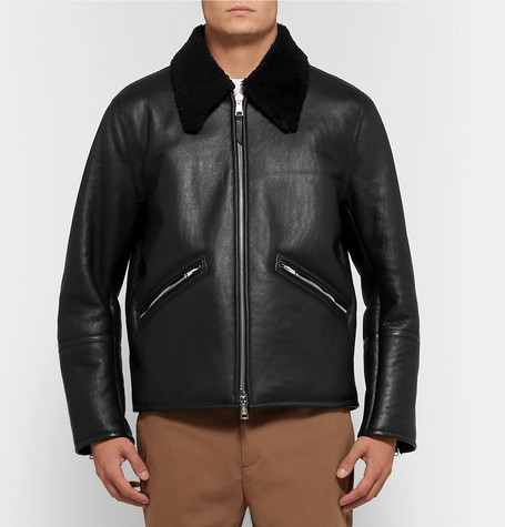 Our Legacy Shearling Bomber Jacket