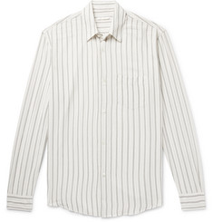 Our Legacy Initial Striped Crepe Shirt