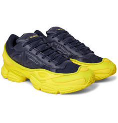 Raf Simons - + adidas Originals Ozweego Mesh and Leather Sneakers
