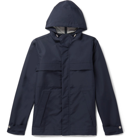 Shell Hooded Jacket by Mr P.