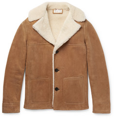 Saint Laurent Slim-Fit Shearling Jacket
