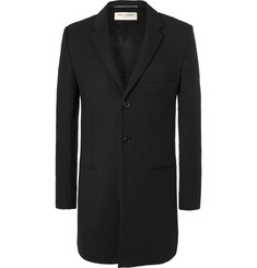 Saint Laurent - Wool-Twill Chesterfield Coat
