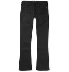 Saint Laurent Slim-Fit Flared Stretch-Denim Jeans