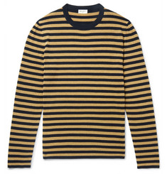 Saint Laurent - Slim-Fit Striped Knitted Sweater