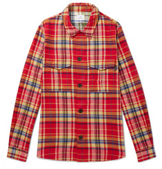 PS by Paul Smith - Checked Cotton-Flannel Shirt