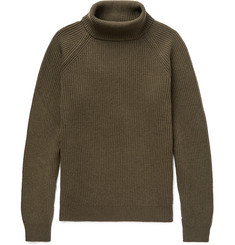 Incotex Virgin Wool Rollneck Sweater