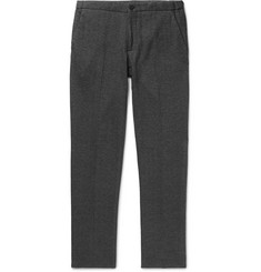 Incotex Slim-Fit Herringbone Cotton-Blend Trousers