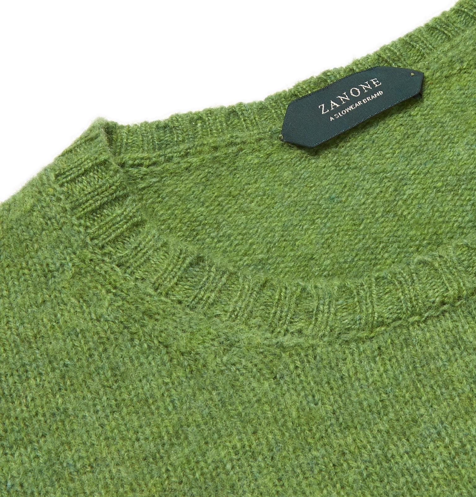 Sweater Sweater Incotexbrushed Virgin Wool Incotexbrushed Wool Virgin Virgin Incotexbrushed Sweater Wool p7qxawv