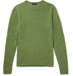 Incotex Brushed Virgin Wool Sweater