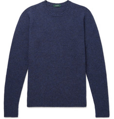 Incotex - Brushed Virgin Wool Sweater