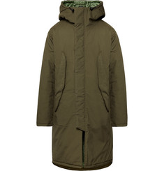 Monitaly - Harry's Vancloth Cotton Hooded Parka