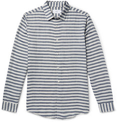 Onia - Albert Slim-Fit Striped Voile Shirt