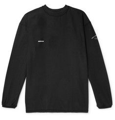 Vetements Oversized Appliquéd Printed Cotton-Jersey T-Shirt