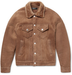 b7410638c404 AMIRI - Shearling Trucker Jacket
