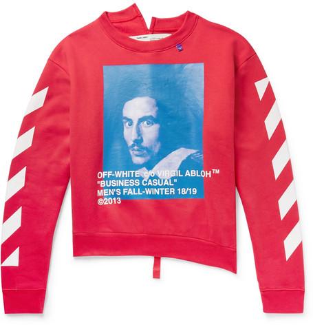 printed-fleece-back-cotton-jersey-sweatshirt by off-white