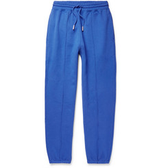 Off-White Blurred Off Tapered Fleece-Back Cotton-Jersey Sweatpants