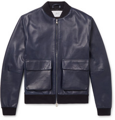 Mr P. - Leather Bomber Jacket