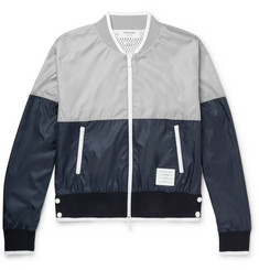 Thom Browne - Colour-Block Ripstop Bomber Jacket