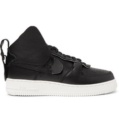 Nike + PSNY Air Force 1 Leather High-Top Sneakers