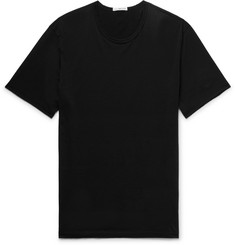 James Perse Slim-Fit Cotton and Cashmere-Blend Jersey T-Shirt