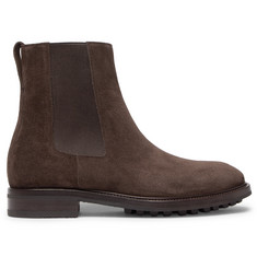 TOM FORD Suede Chelsea Boots