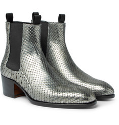 TOM FORD - Python Chelsea Boots