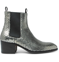 TOM FORD Python Chelsea Boots