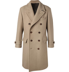 TOM FORD - Double-Breasted Felted Wool-Blend Coat