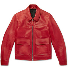 TOM FORD - Leather Blouson Jacket