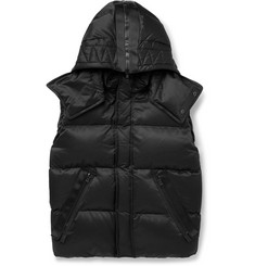 TOM FORD Oversized Quilted Cotton-Blend Hooded Down Gilet