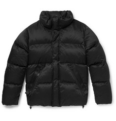 TOM FORD Oversized Quilted Cotton-Blend Down Jacket