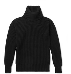 TOM FORD Ribbed Merino Wool Rollneck Sweater
