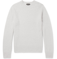 TOM FORD - Slim-Fit Brushed-Cashmere Sweater